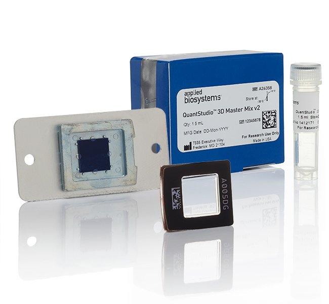Applied BiosystemsQuantStudio 3D Digital PCR 20K Chip Kit v2 and Master